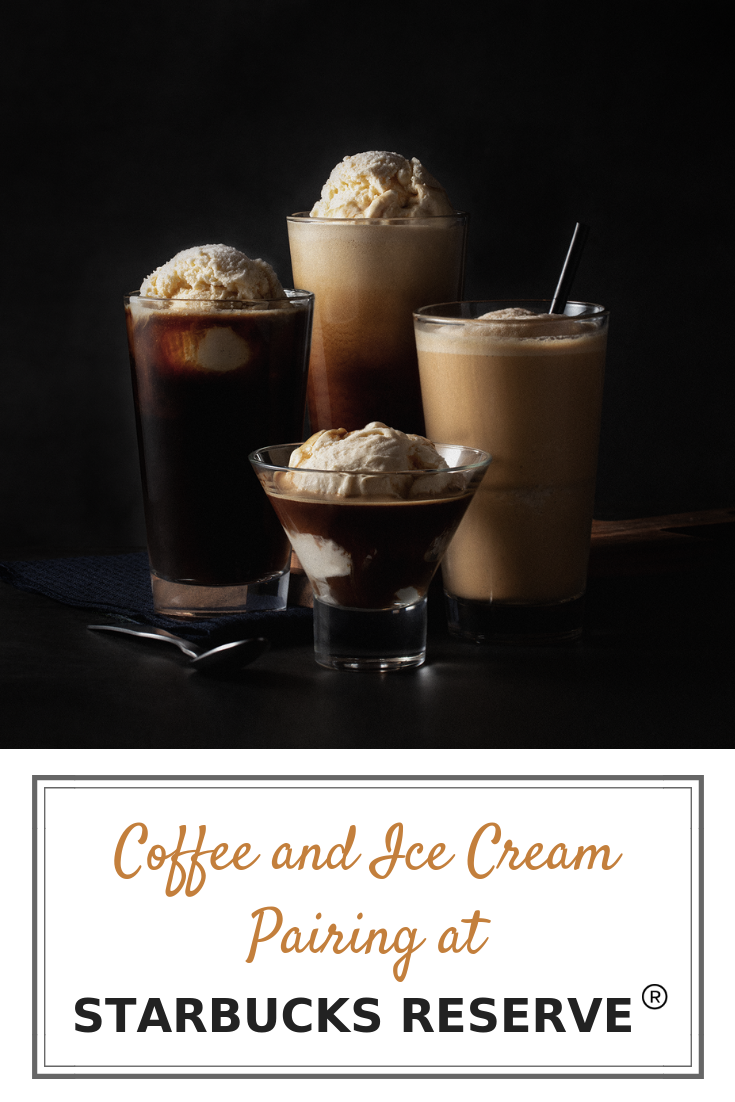 Coffee and Ice Cream Pairing at Starbucks Philippines