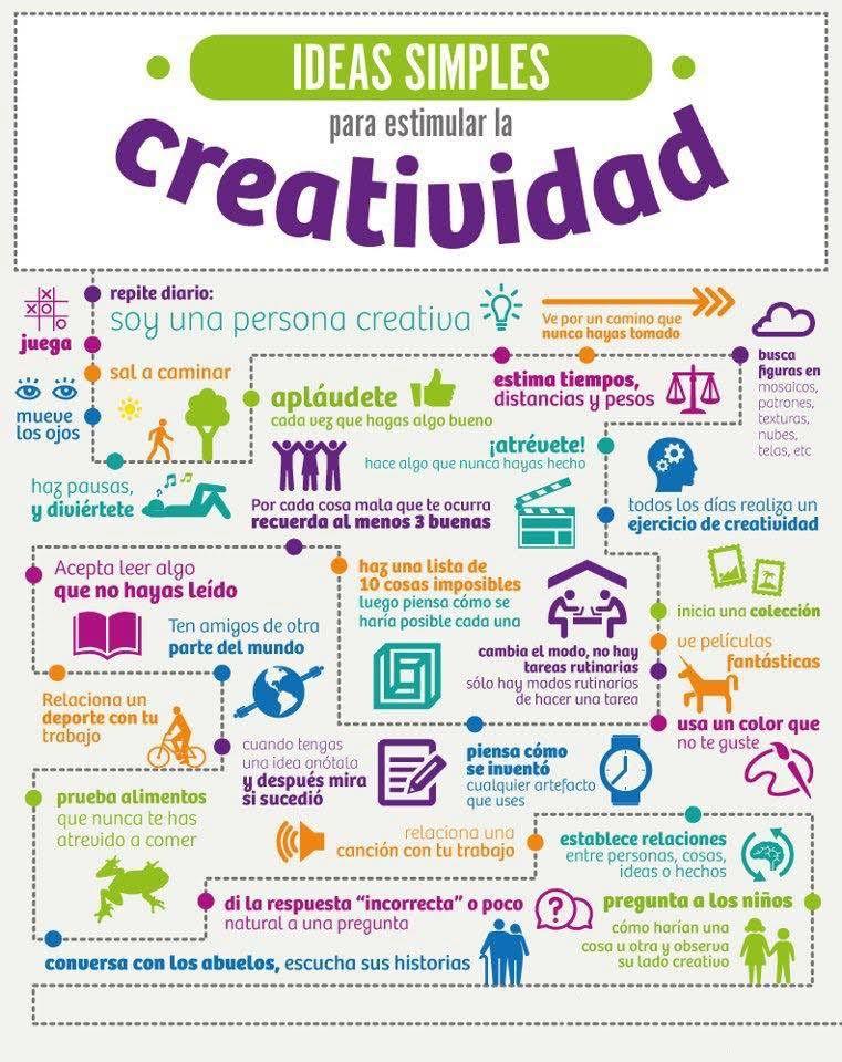 ¿Cómo estimular la creatividad?