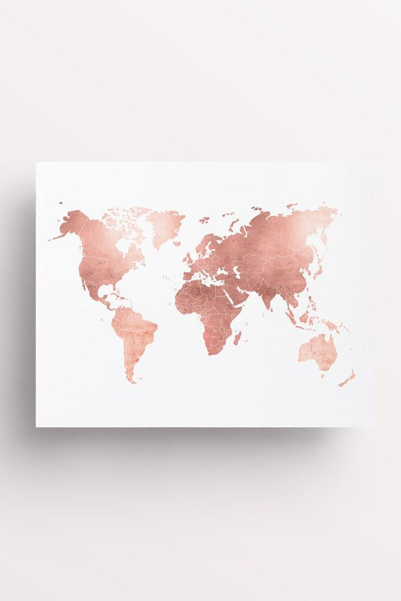 Explore // Copper travel // Globe // Travel print // travel poster // copper Art Prints