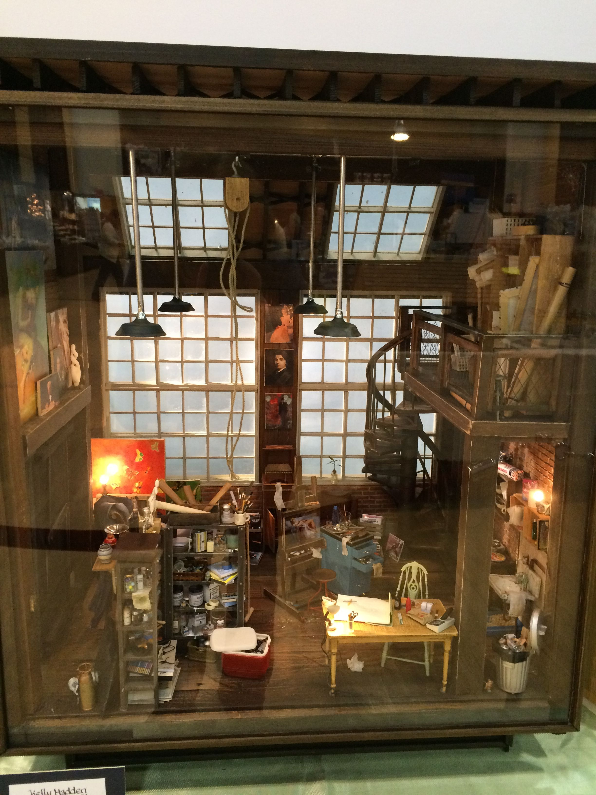 Miniature Enthusiasts Of Toronto Show 2015 Artist S Loft