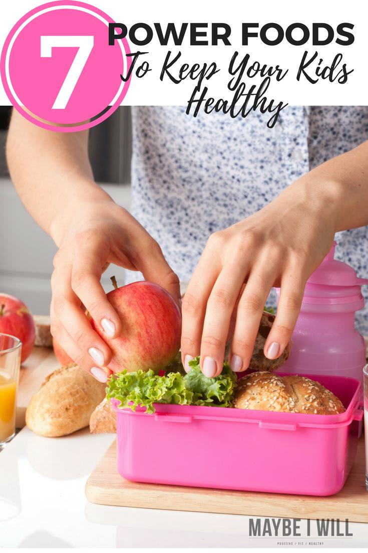 7 Immune Boosting Foods for Kids! Immune boosting foods