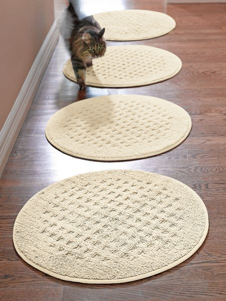 Vista Round Rug 24 Pure Cotton Comfort In A Practical Nonslip That S Machine Washable Solutions