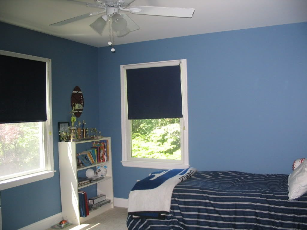 Trevor\'s room - Ben Moore Old Blue jeans | FINAL PAINT COLORS ...
