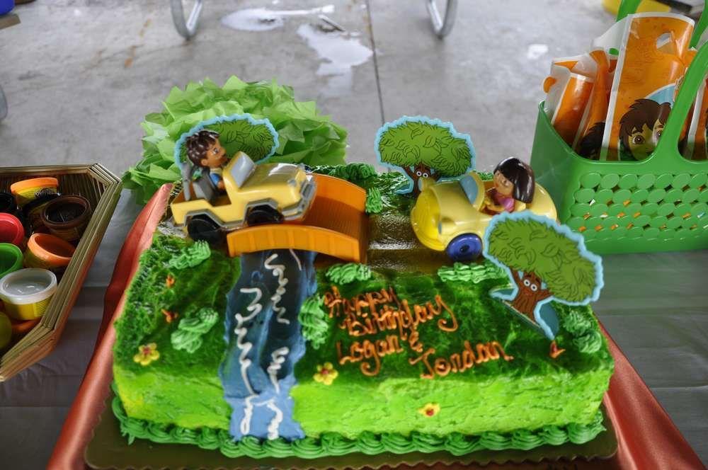 Dora And Diego Double Birthday Party Ideas