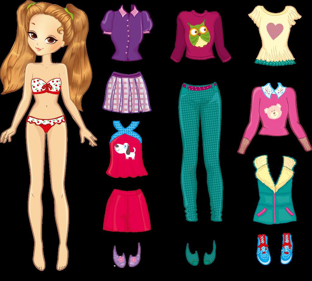 Шаблон для куклы картинки