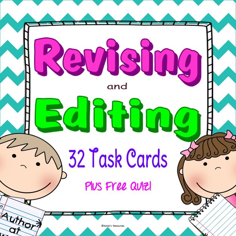 Great Practice At Revising And Editing Perfect For STAAR