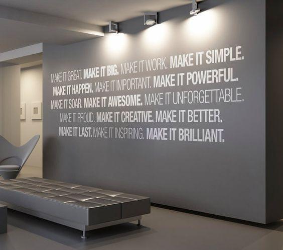 Office Wall art - Corporate - Office supplies - Office Decor ...