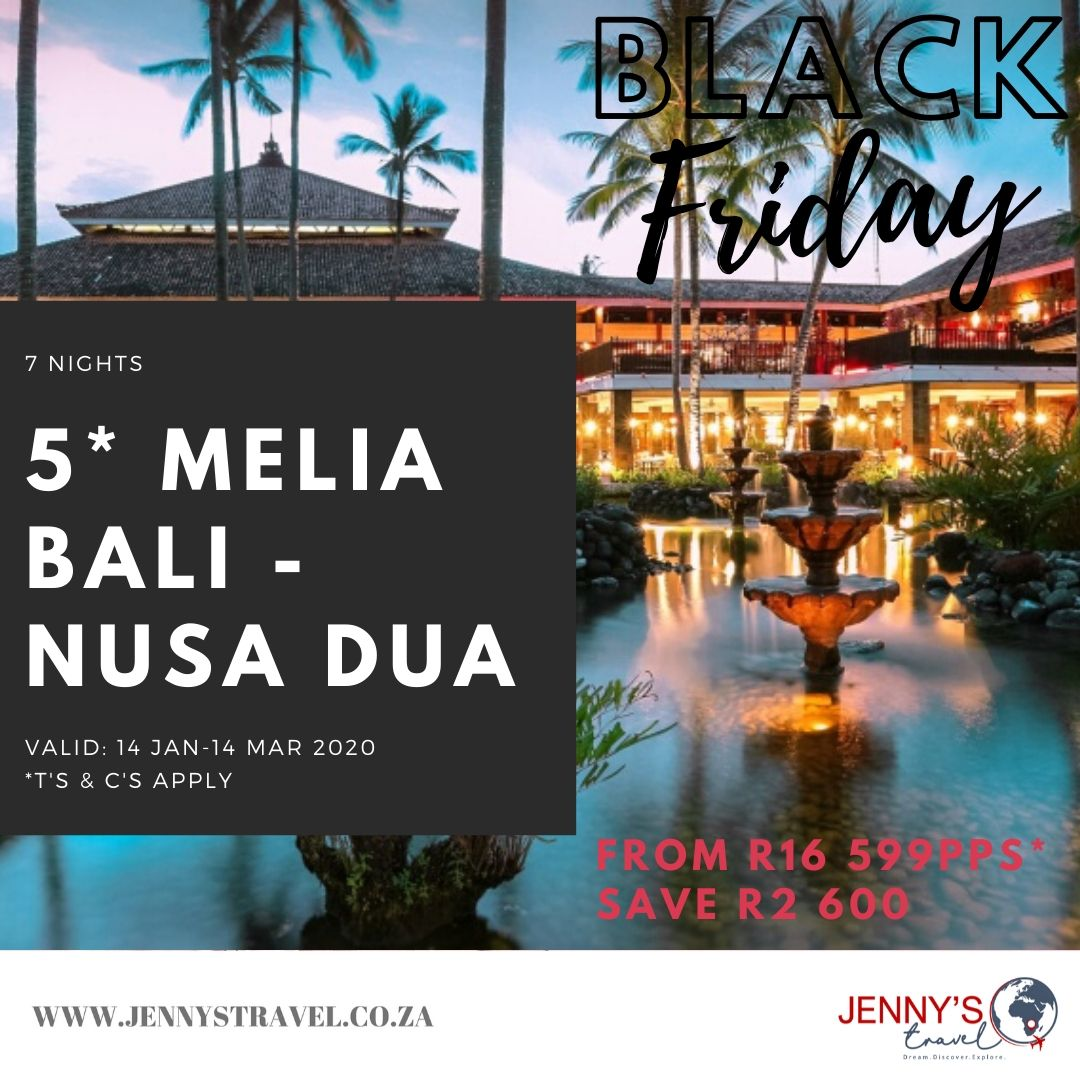 Black Friday Included Return Flights From Johannesburg To Bali Including Airline Levies Return Airport Transfers 7 Corporate Travel Travel Specials Travel