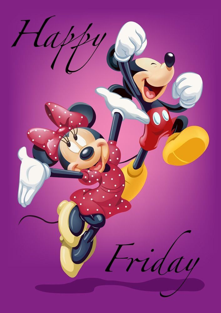 Happy Friday | Mickey mouse, friends, Disney mickey mouse ...