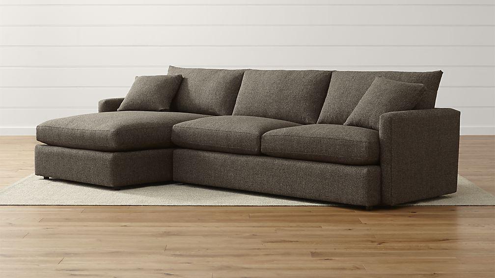 lounge ii petite 2 piece sectional sofa general minimalist rh pinterest com