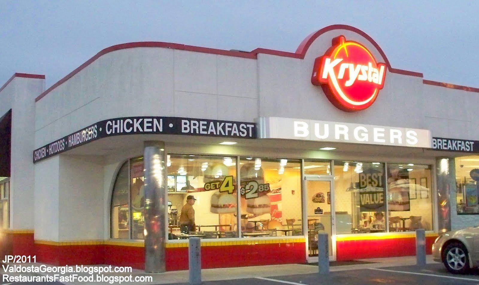 Restaurant Fast Food Menu Mcdonald S Dq Bk Hamburger Pizza Mexican Taco Bbq Chicken Seafood Chinese Krystal Burger Krystal Burger Krystal Restaurant Fast Food