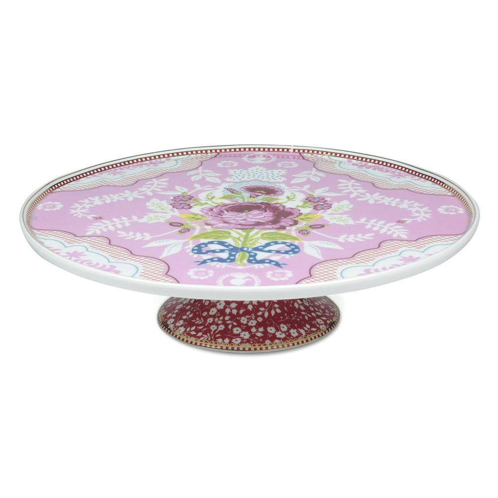 Floral Cake Stand - Pink $65 0.5cm from Pip Studio from Amara  sc 1 st  Pinterest & Floral Cake Stand - Pink $65 0.5cm from Pip Studio from Amara ...