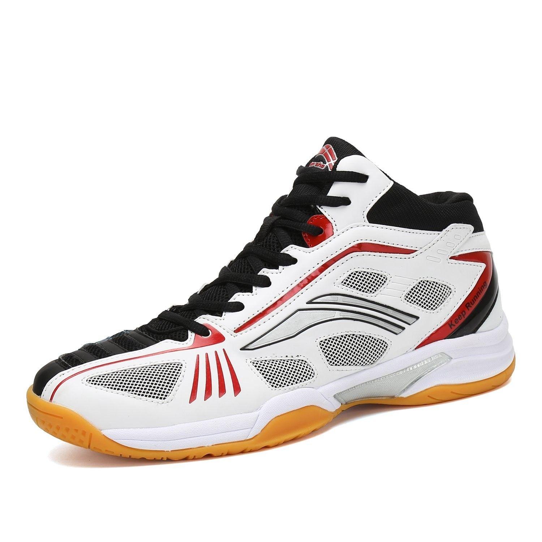 Badminton Shoes Men Non Slip Indoor Court Sneakers Wide