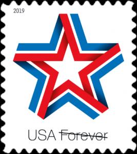 U S Postal Service Issues New Star Ribbon Forever Stamp Forever Stamps Stamp Usps Stamps