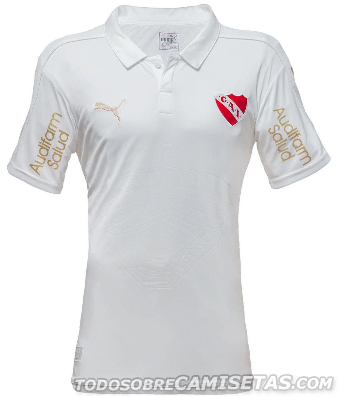 Camiseta Blanca PUMA de Independiente 2017   Great game   Pinterest ...