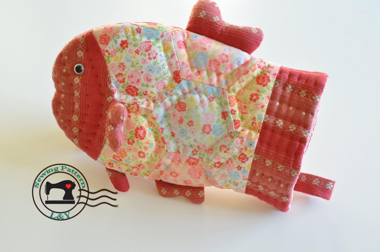 Fish Baking Glove Oven Mitt Pdf Sewing Pattern Etsy Pdf