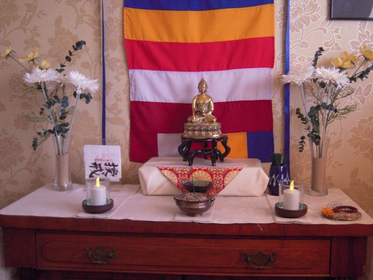 buddhist altars in the home | home altar | alters | Pinterest | Altars