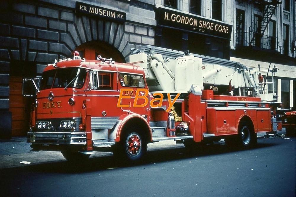 FDNY Fire Apparatus Slide: L-1 MACK C | Firefighting, Civil Defense