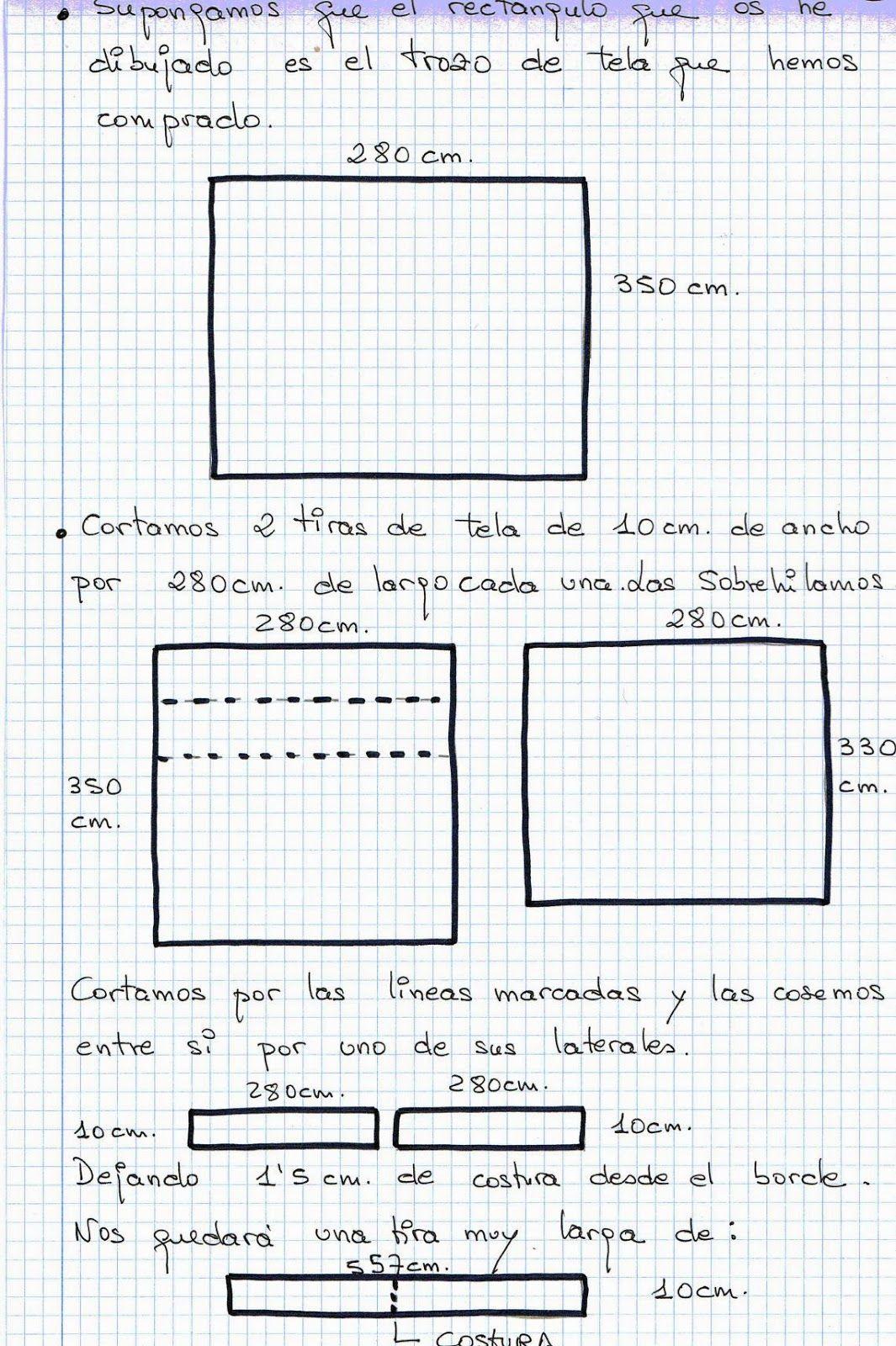 Resultado de imagen de como hacer falda mesa rectangular   Coser ...