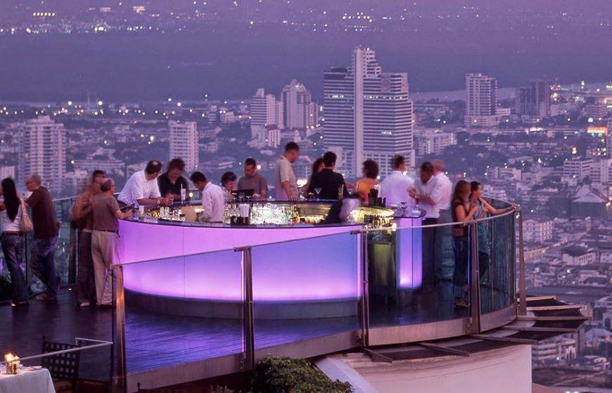 Passion For Luxury Lebua S Sky Bar The Best View Of Bangkok Rooftop Bar Bangkok Hotel Restaurant Sky Bar