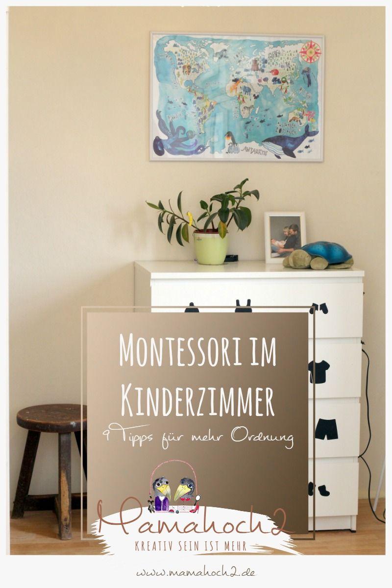 montessori im kinderzimmer montessori at home ordnung chaos ...