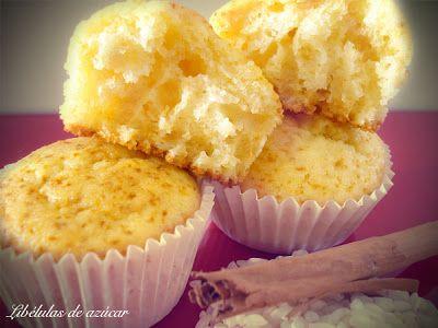 Magdalenas de arroz con leche | Cocinar en casa es facilisimo.com