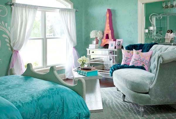 teen bedrooms for girls | Teenage Bedroom Designs Vintage ...