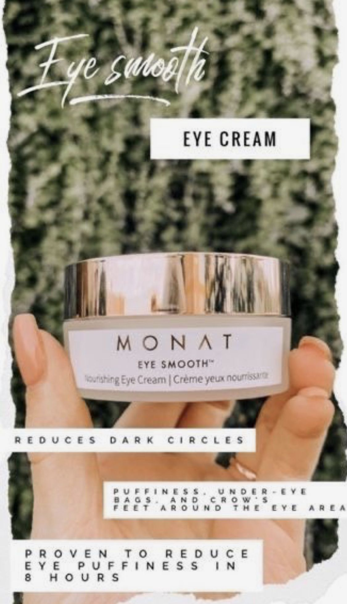 Best Ever For Puffy Eyes Monat Hair Eye Cream Monat
