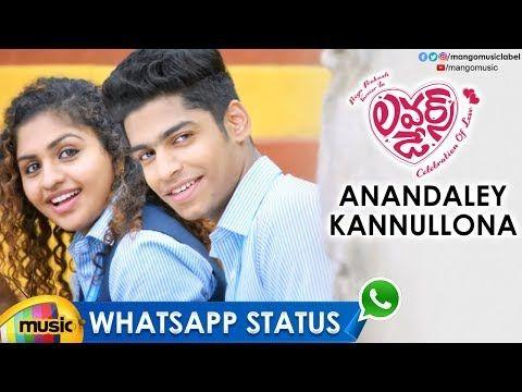 Best Love WhatsApp Status Video   Anandaley Kannullona ...
