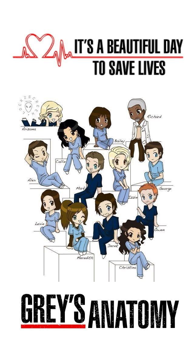 Achei a imagem aqui no Pinterest e coloquei o logo Greys Anatomy e its a beautiful day to save lives❤️❤️❤️❤️ Wallpaper Greys// Greys Anatomy// Desenho Greys #greysanatomy