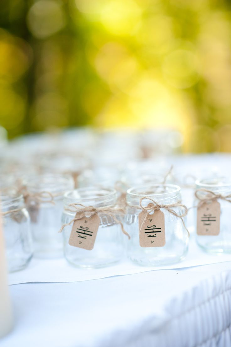 wedding favors ideas do it yourself%0A baby food jar wedding favors   Our wedding  DIY favor jars  Baby food jars