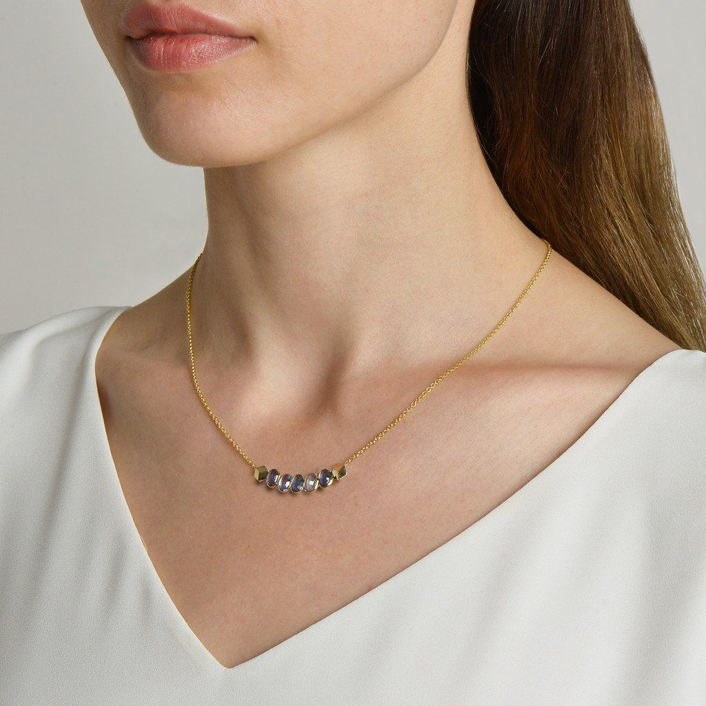 Kt yellow gold blue sapphire pendant necklace sapphire pendants