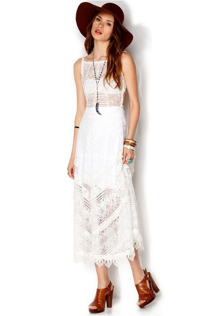 Now This Is How You Wear A Slip Dress Lace Maxi Dress Dresses Womens Dresses