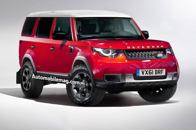 A replacement Land Rover Defender codenamed L663 will come in