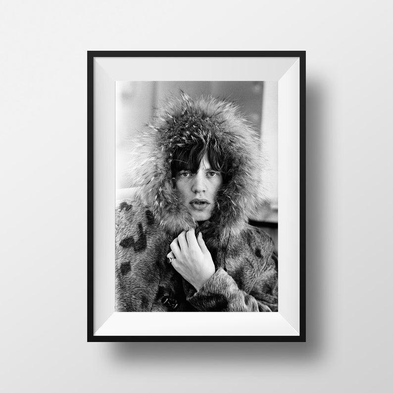 A4 A3 A2 A1 A0| Rolling Stones Music Digital Art Poster Print T1140