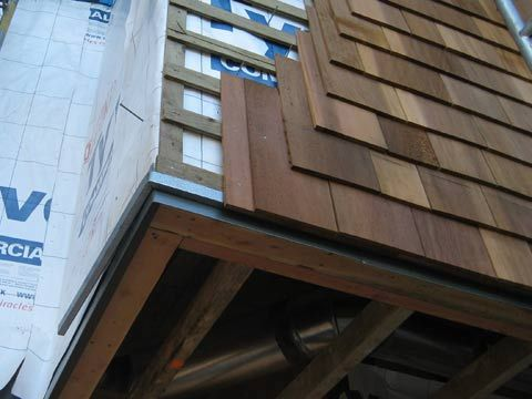 Cedar Rainscreen With Insect Screening Detail Practice