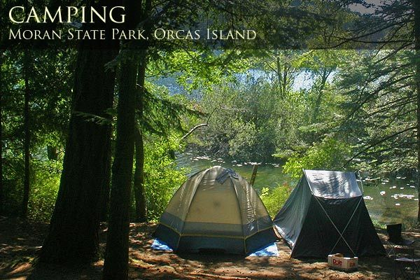 great camping on Orcas Island, WA State parks, Orcas