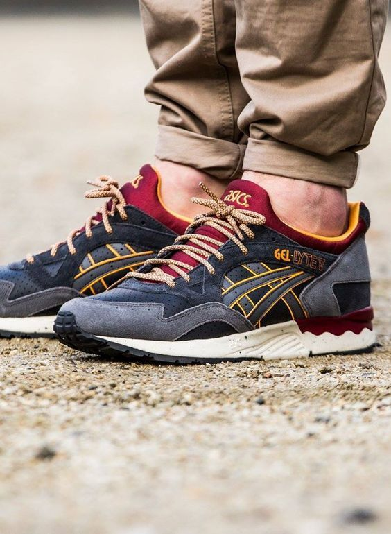 asics gel-lyte v winter trail pack sneaker herren