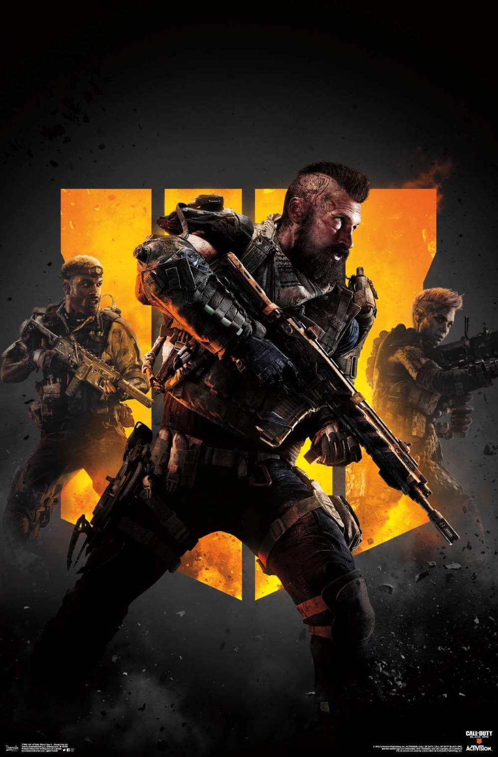 Call Of Duty Black Ops 4 Group Key Art Call Of Duty Black Ops 3 Call Of Duty Black Call Of Duty