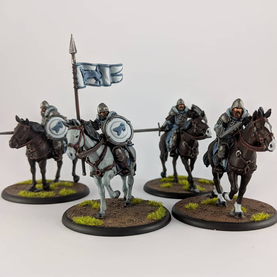 House Stark Outriders Asoiaftmg Housestark Starkoutriders