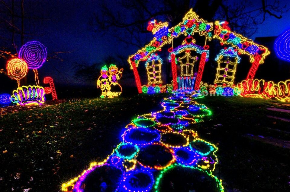 Micky Mouse Club House Holiday Lights Display Christmas Light Displays Holiday Lights