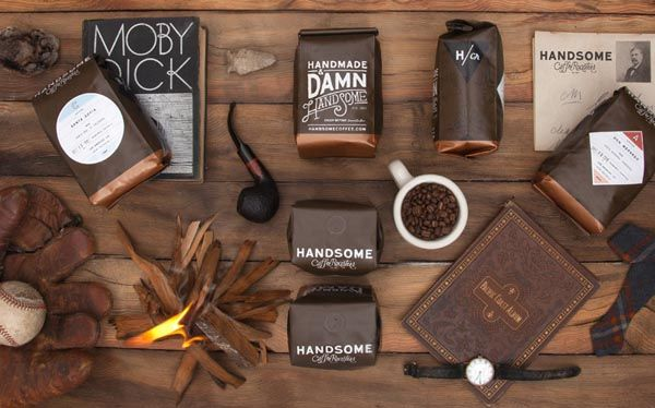 Handsome Coffee Roasters – Visual Identity Design by PTARMAK