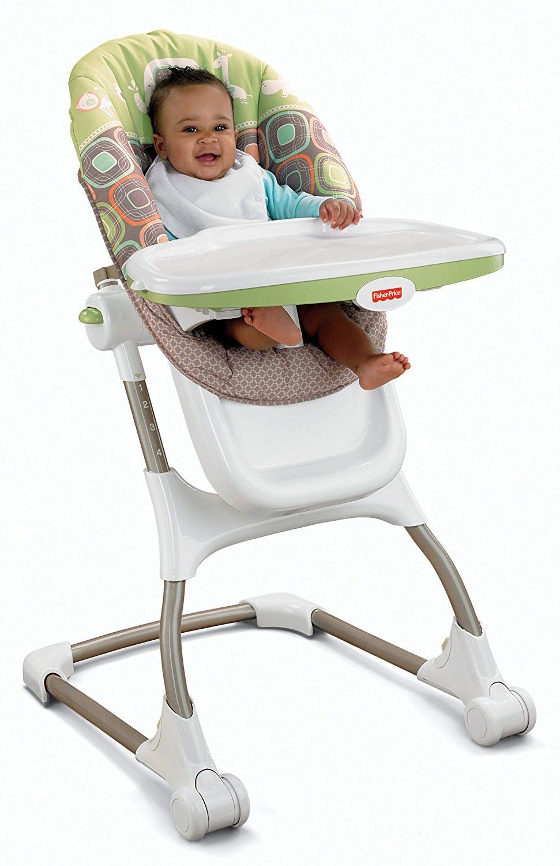 FisherPrice EZ Clean High Chair, Coco Sorbet