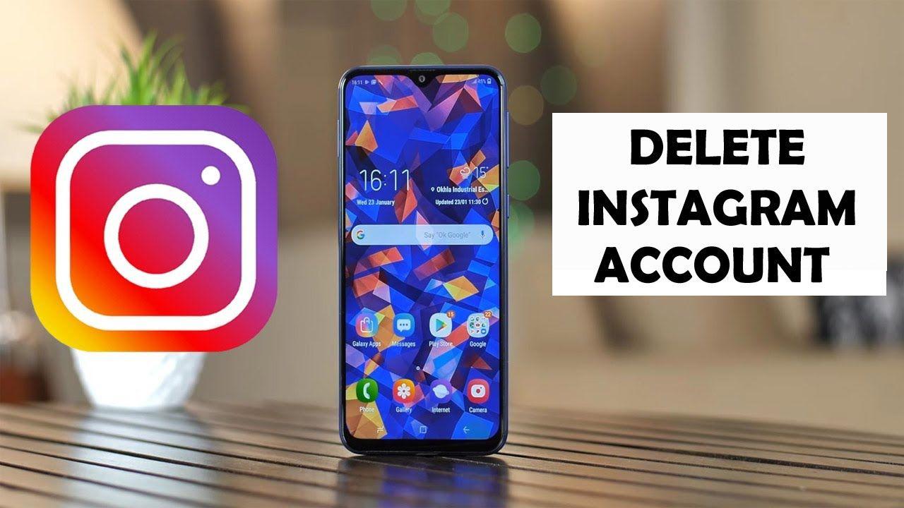 How to delete instagram account 2020 delete instagram