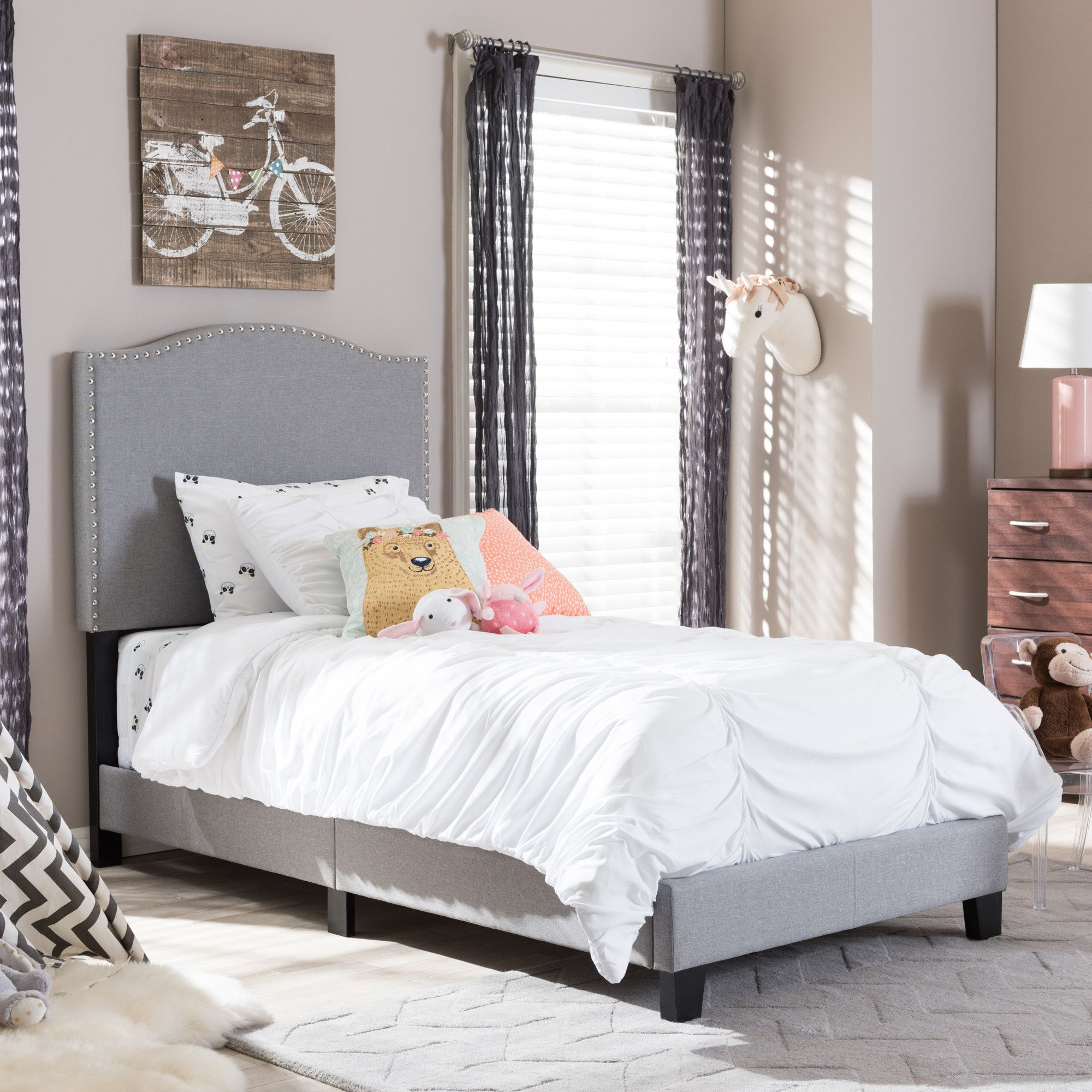 Greta Upholstered Bed