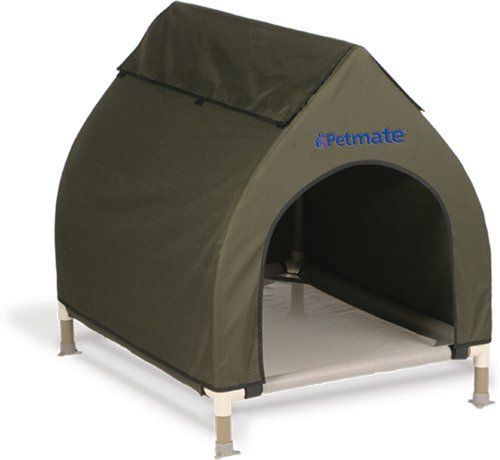 Petmate Cool Cot House Medium Olive for Dogs up to 75