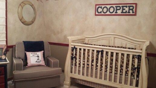 Everything Designish Baby Boy S Nursery: Cooper's Nursery: Vintage