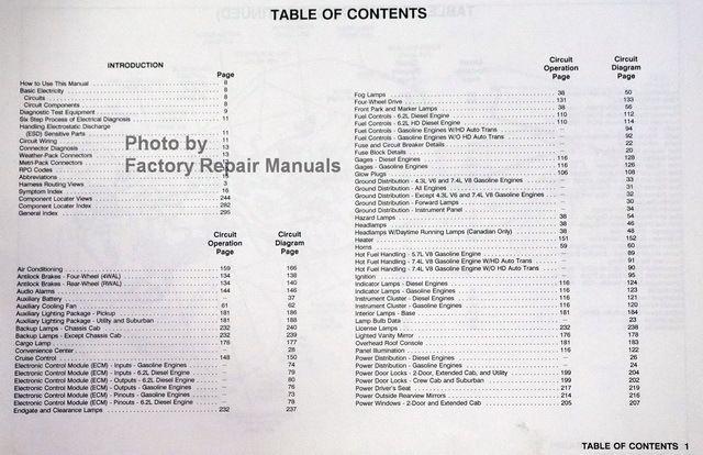 92 Chevy Wiring Diagram