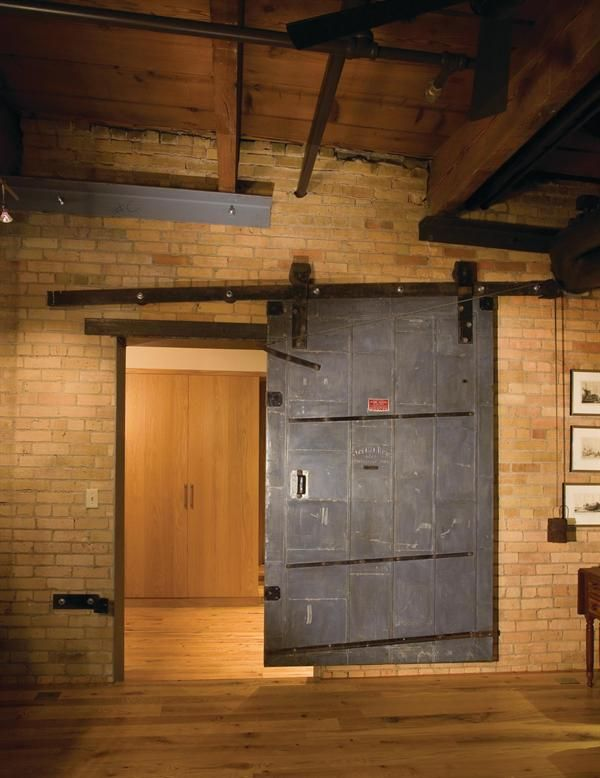 The tin-clad sliding door which the owner found likely came from a & The tin-clad sliding door which the owner found likely came from ...