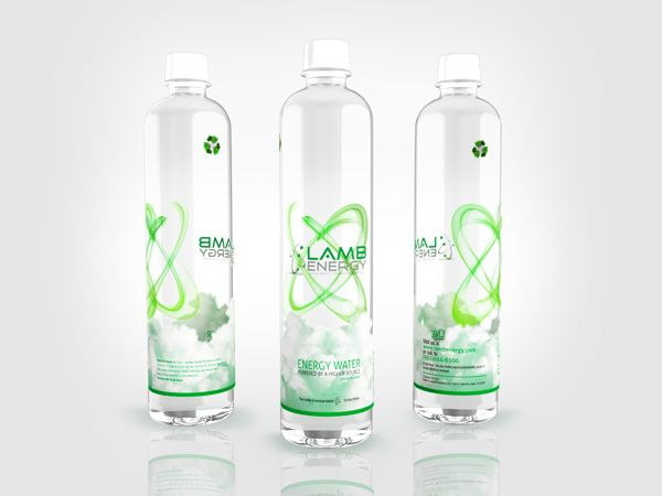 Water Bottle Label Design by Raul Armendariz, via Behance ...